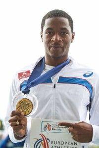 Wilhem Belocian, Guadeloupéen, champion européen du 110m haies