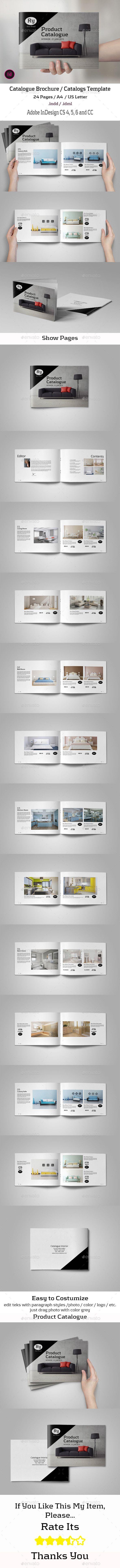 Catalog Interior Brochure Template #brochure Download: http://graphicriver.net/item/catalog-interior/11558127?ref=ksioks