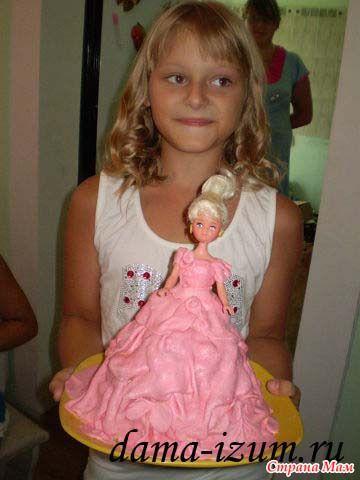 Для мамы торт сметанный
