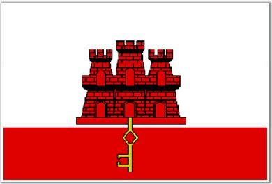 Drapeau de Gibraltar