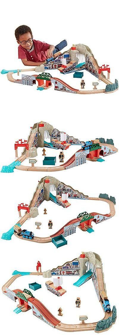 Train Sets 113519: Fisher-Price Thomas The Train Wooden Railway Pirate Cove Discovery Set Train Set -> BUY IT NOW ONLY: $125.59 on eBay!