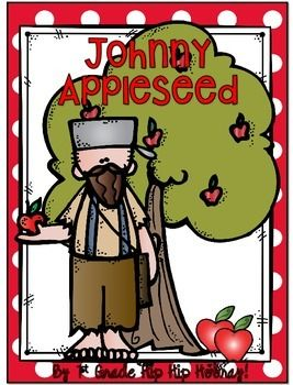 This unit includes science, math and a complete balanced literacy section all related to Johnny Appleseed and the Apple.The packet begins with a Johnny Appleseed Craft.It also has a Johnny Appleseed writing assignment with mini craft to attach.Suggested Literature...There are 8 books suggested including informational text as well as fiction.