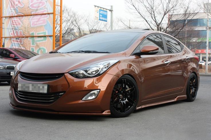 Hot lookin' Elantra AutoCrazed Hyundai/ Kia Pinterest