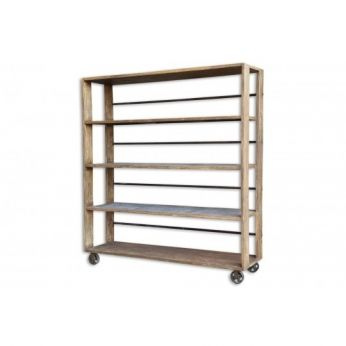 Salvaged Wood Bookcase - CDI - Available at Warehouse 74