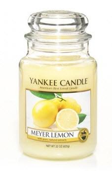 Meyer Lemon Yankee Candle #YankeeCandles#RelaxingRituals