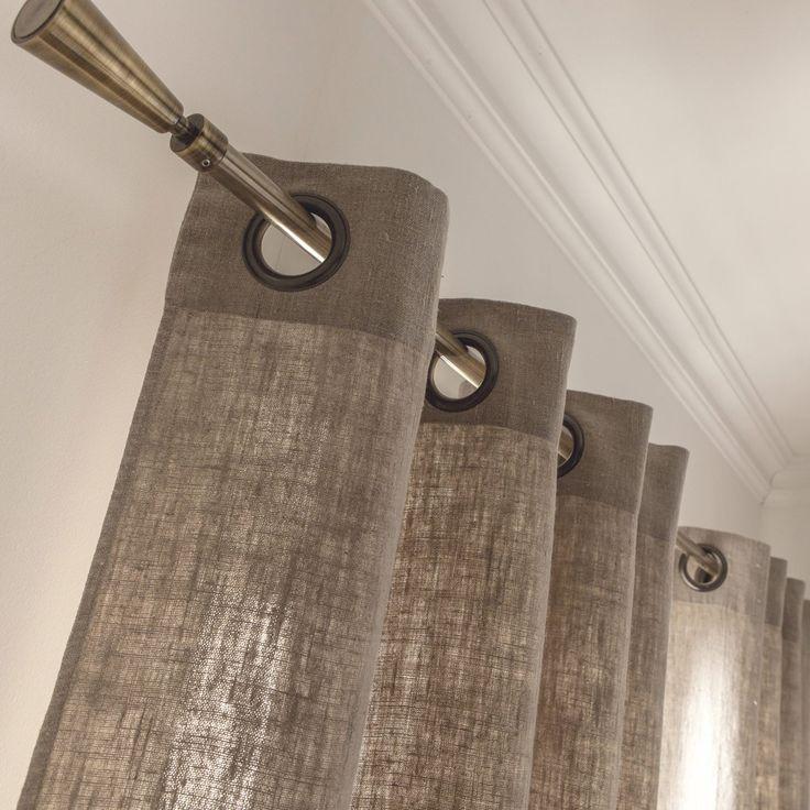 17 meilleures id es propos de rideaux rustiques sur - Rideaux de fenetres maison ...