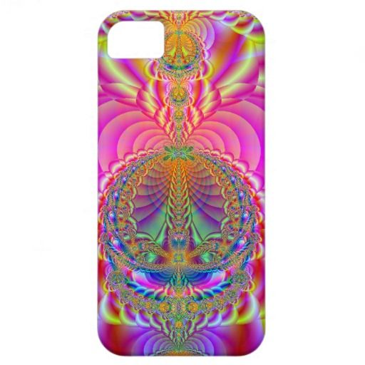 colorful fractal iPhone 5 cases