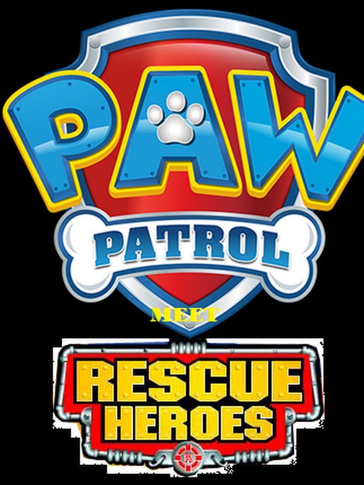 PAW Patrol Meet Rescue Heroes (With images) Paw patrol