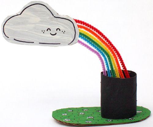 Bulut ve Gökkuşağı Yapıyorum – KENDİN YAP, ÖĞREN, EĞLEN! #kendinYap #DIY