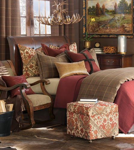 Luxury Bedding by Eastern Accents - Chalet Alpine Home Collection