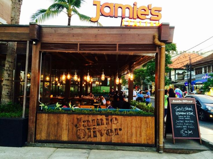 Jamie's Italian Bali - One of our lovely team snapped this on her honeymoon in Bali