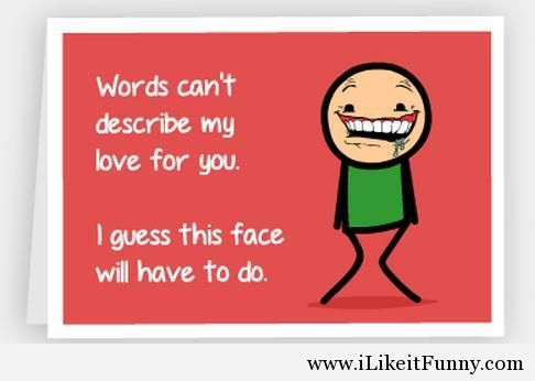 Funny Valentines Day Quotes And Cards Card 2014 Funny Picture