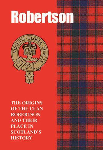 Robertson Clan Heritage Book, Made In Scotland, Clan Crest, Tartan