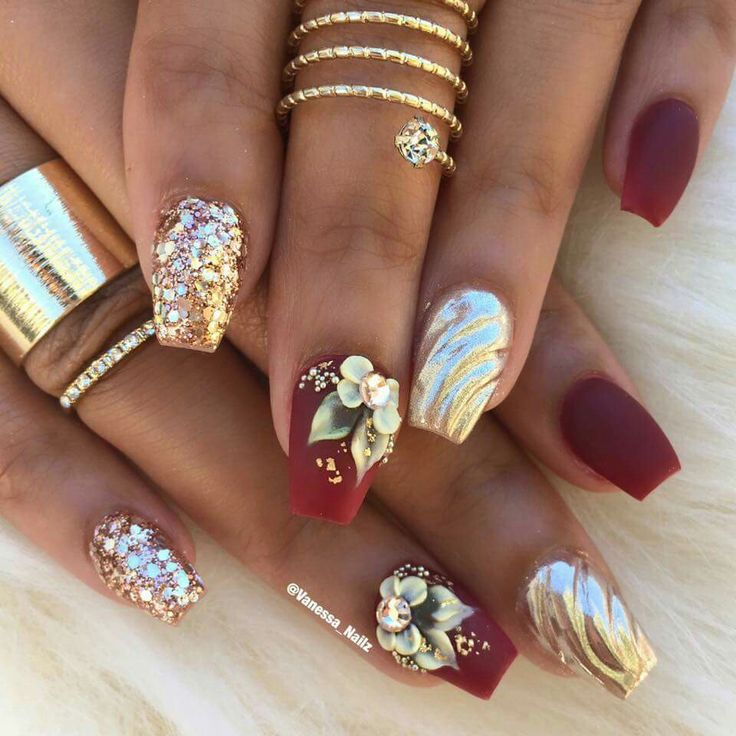 Best 25+ 3d acrylic nails ideas on Pinterest