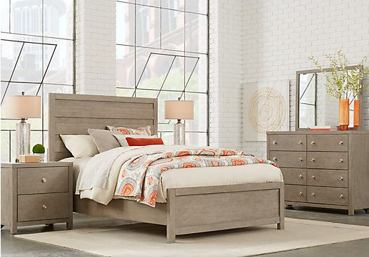 Barringer Place Gray 7 Pc King Panel Bedroom in 2018 Home Projects