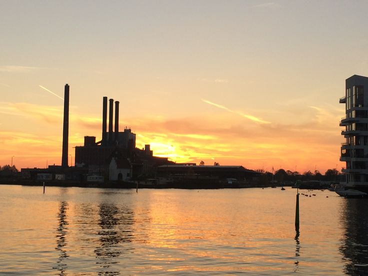 H.C Ørsted Power station at sunset http://philsspaces.com
