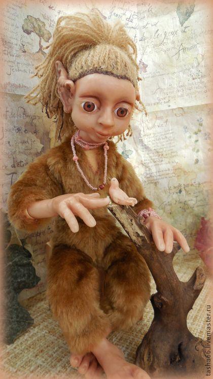 Создай сказку...Кукла эльф.. Кукла полностью гуттаперчивая! Моя авторская задумка наконец то воплотилась, я внесла супер- лёгкие материалы в каркас и начинку куклы. Лёгкая, гибкая, пластичная. Невероятно трогательная девочка эльф.