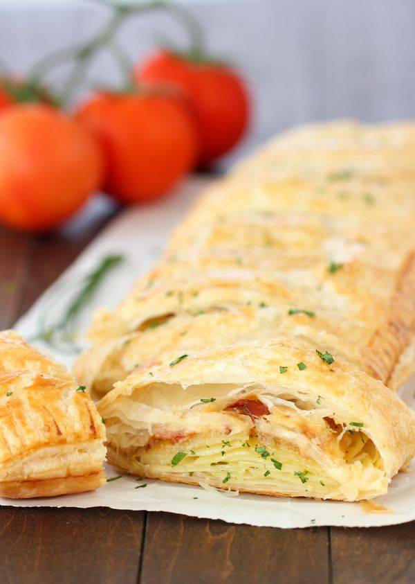 Potato, Bacon and Cheese Pastry