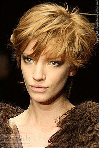 Haartrends: korte kapsels foto's en voorbeelden - Trendystyle, de trendy vrouwensite