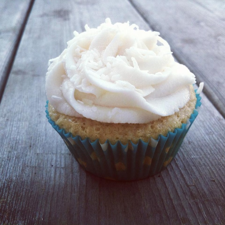 Vegan Coconut Cupcakes with a Vegan Coconut Buttercream! (these are so delicious you would never know they're vegan!)