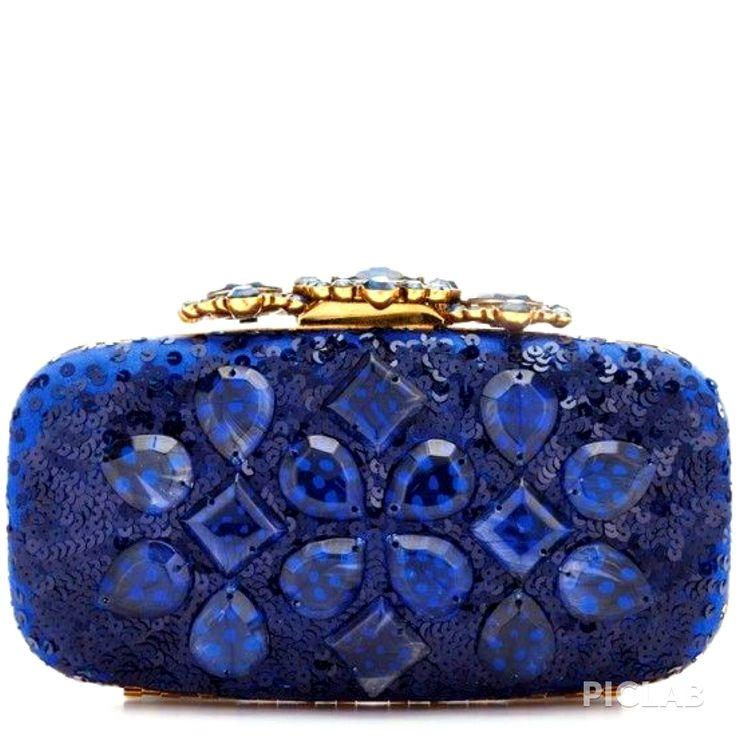 Pre-owned - Silk clutch bag Oscar De La Renta 1LE2cbv5TO