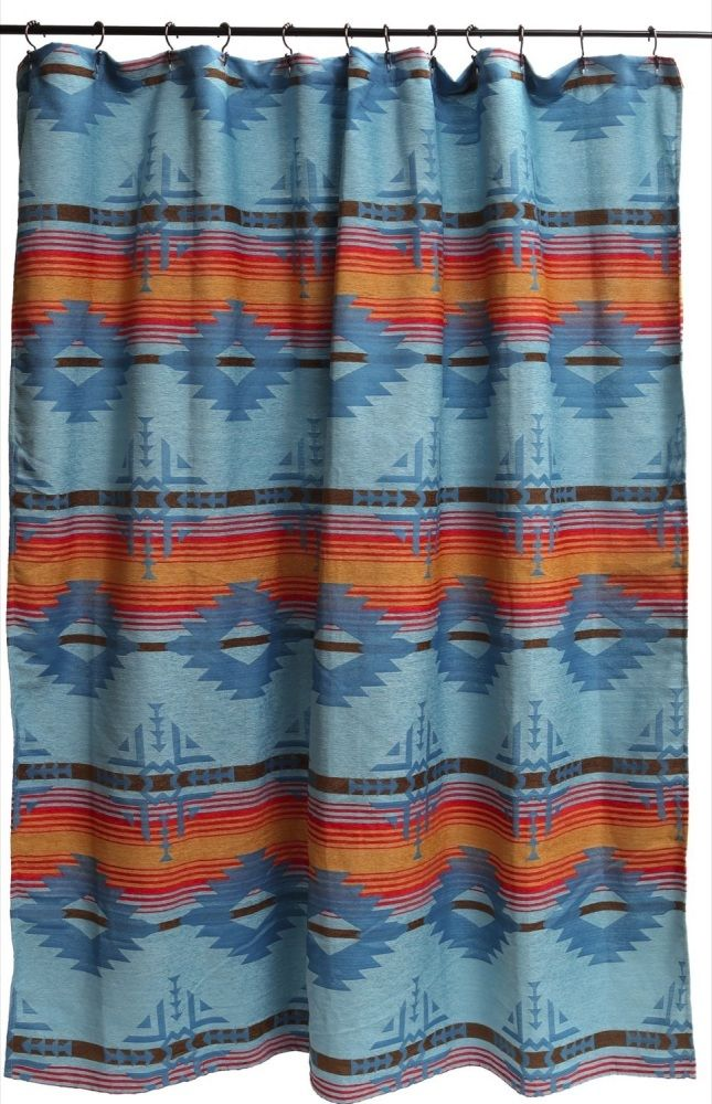 Arizona Southwestern Shower Curtain by carsten's inc
