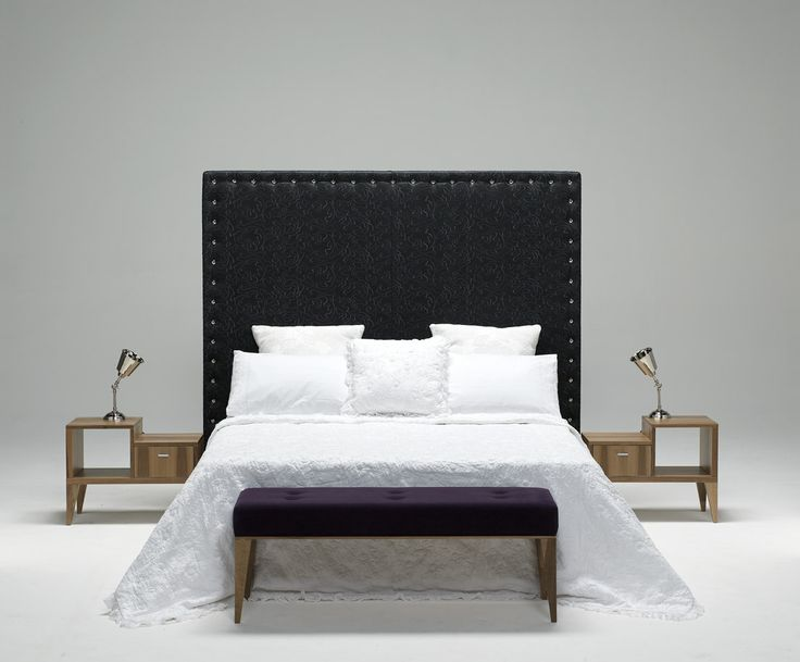 Hotel bedroom furniture - bench and side tables
