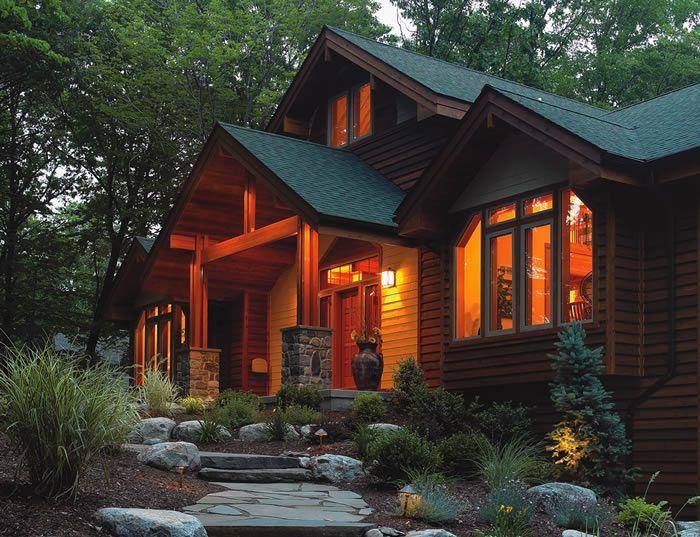Lindal cedar homes photos media 2013 lindal cedar for Lindal log cabin homes