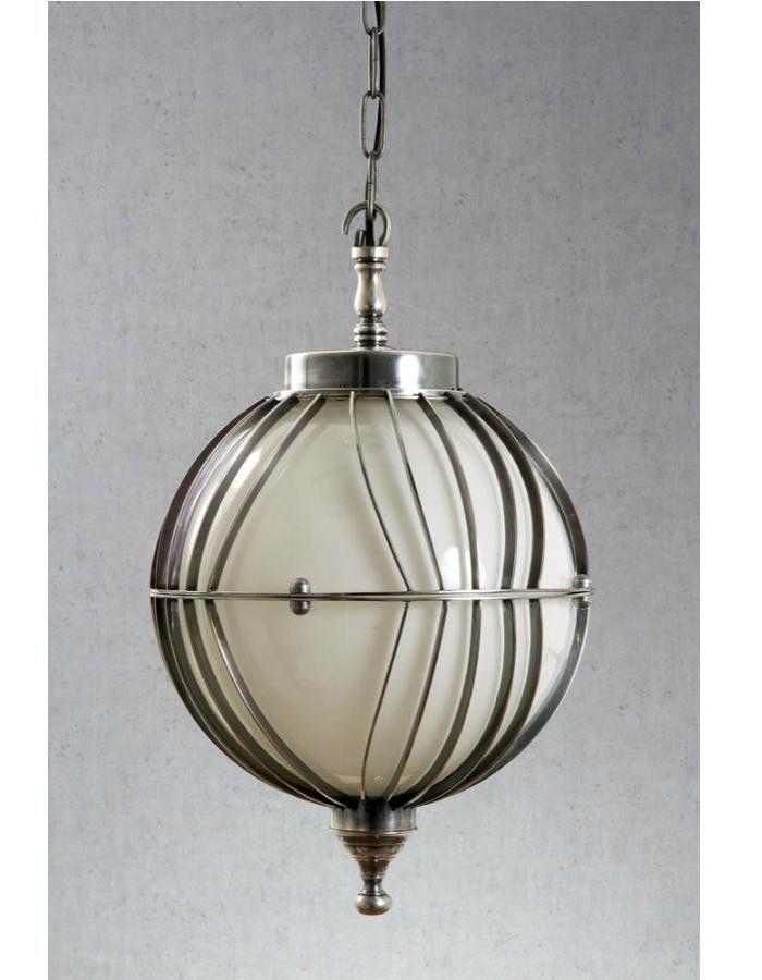 Rodan Silver Round Pendant Light – Chic Chandeliers