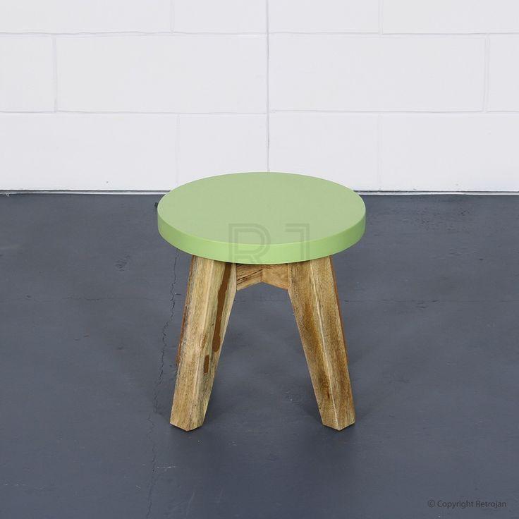 Jasper Scandinavian Style Side/End Table - Bud Green   $69.00