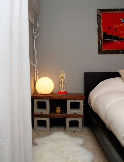 Decor: Blocos de concreto