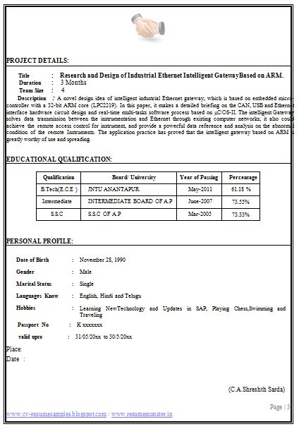 Perfect Resume Template Job Resume Template Download Perfect Resume