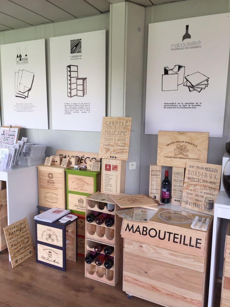 Venez nous rendre visite à Bordeaux Fête le Vin sur le stand Wine and Design - Village 3 - de jeudi 23/06 à dimanche 26/06. www.mabouteille.fr