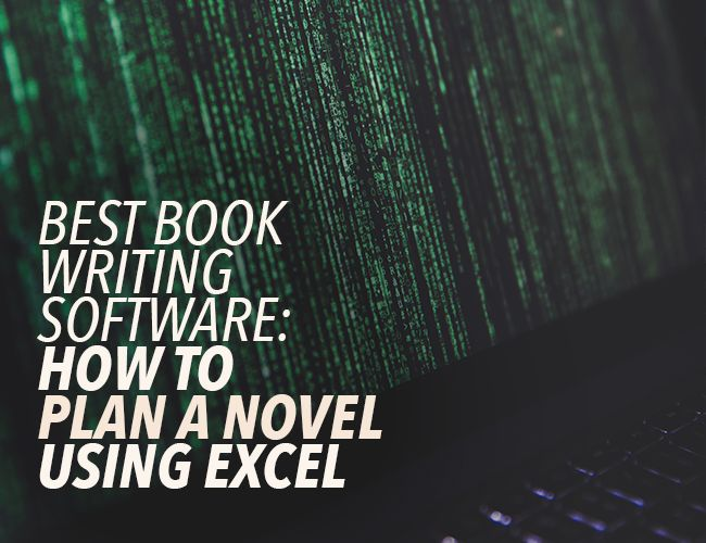 Excel is one of the best pieces of book writing software. Why? Spreadsheets help you organize your characters, scenes, and narrative arcs.