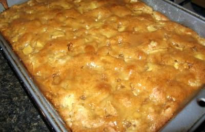 Cake Mix Apple Pie   								This recipe uses a CAKE MIX! It is so simple and taste GREAT!This recipe was found in 101 Things to Do with a Cake Mix.
