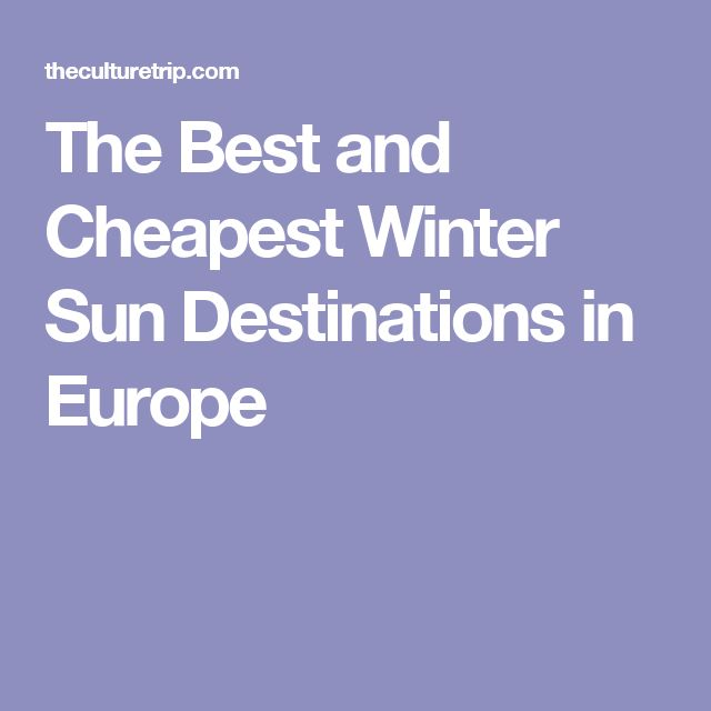Best 25 Winter Sun Destinations Ideas On Pinterest