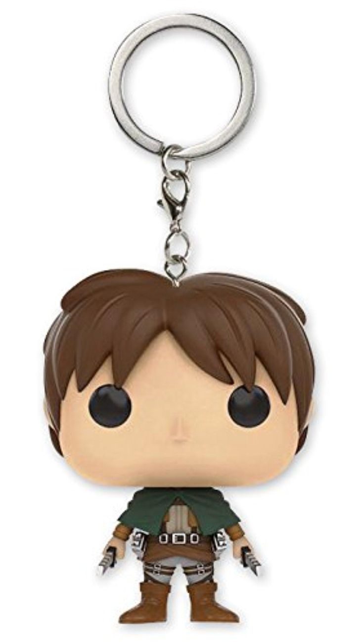 Attack on Titan Pocket Pop! Keychain Vinyl Keyring - Eren Jaeger - Brought to you by Avarsha.com