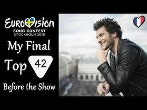 eurovision singers list