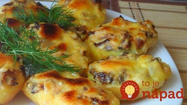 Pečené zemiaky s hubami, syrom a majonézou!............... http://tojenapad.dobrenoviny.sk/pecene-zemiaky-s-hubami-syrom-a-majonezou/