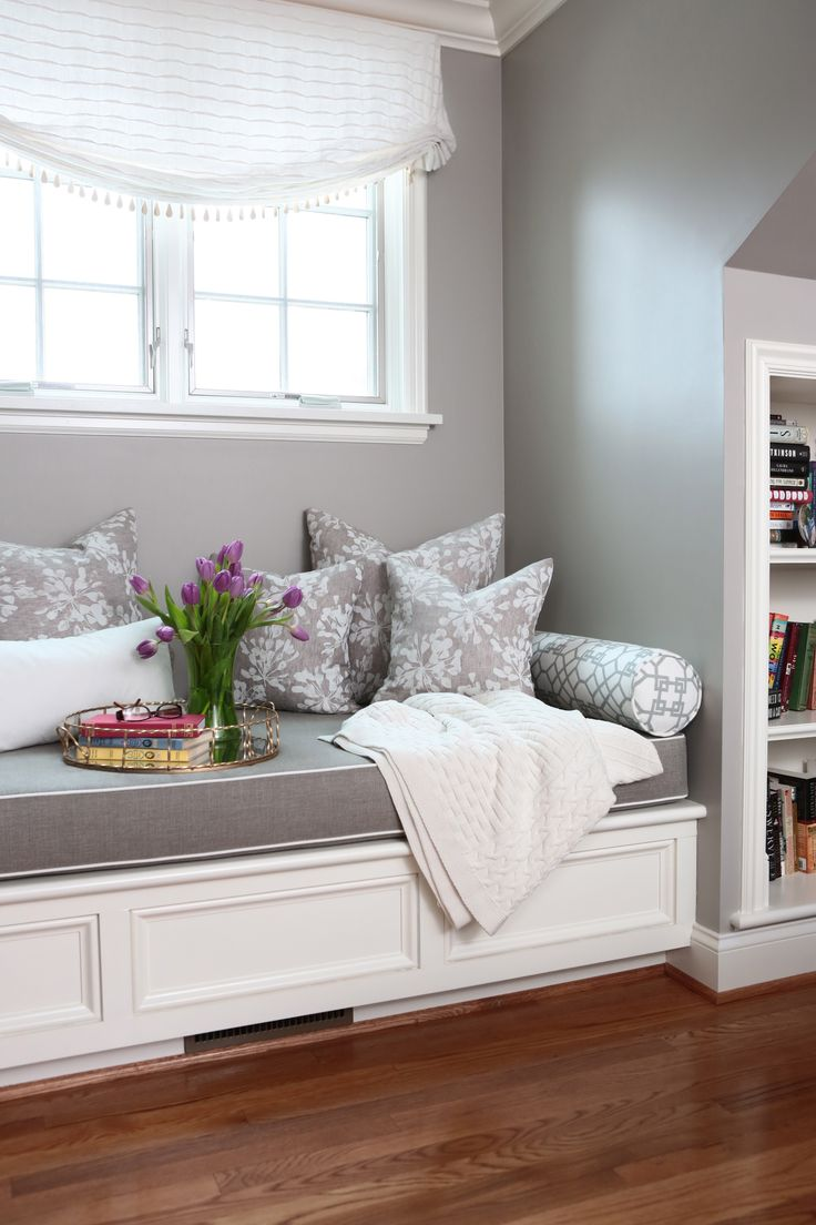 Bed on bay window   best creative home images on pinterest  homes quote and true words