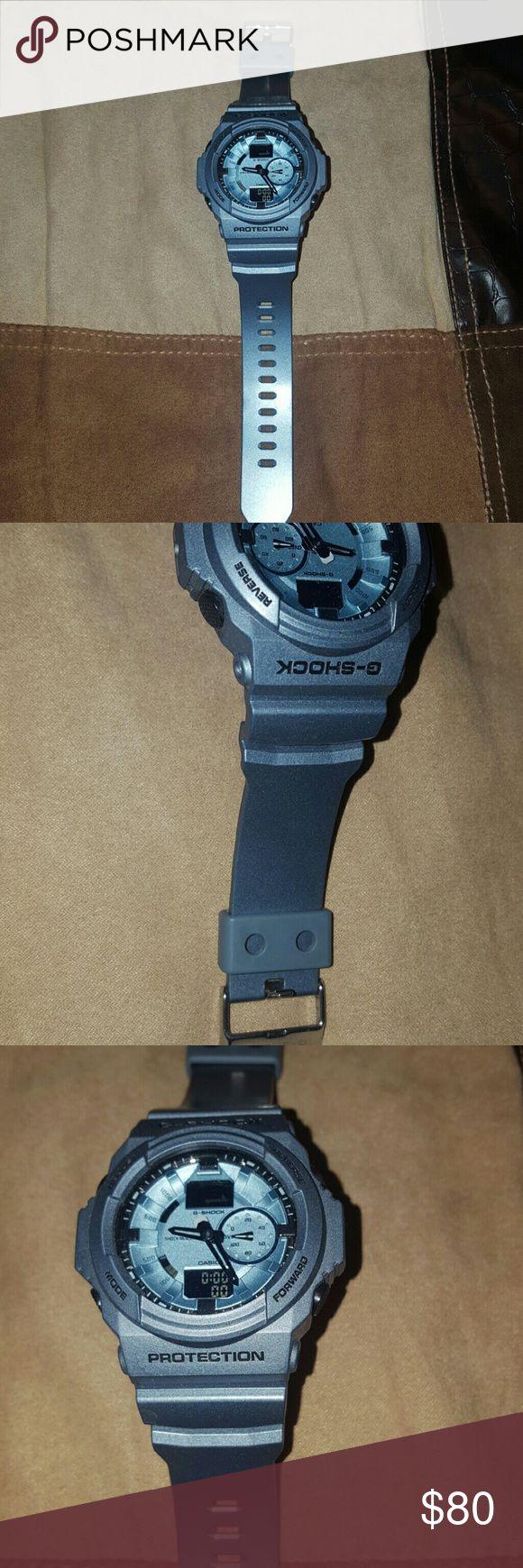 Men's Casio G Shock Resist Watch Pewter Grey Watch practically new..worn no more than twice Casio Accessories Watches