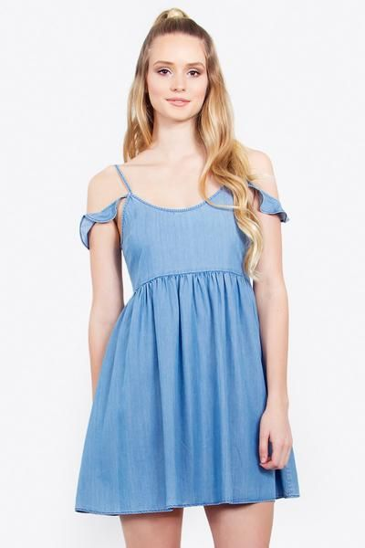 JESSICA CHAMBRAY DRESS - The Shop For Her