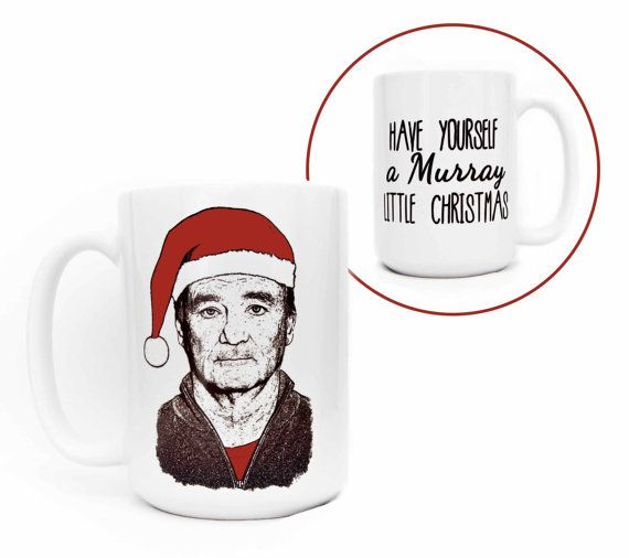 Limited Edition Bill Murray - Have Yourself A Murray Little Christmas - Holiday Mug