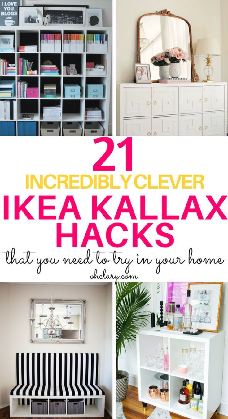 21 IKEA Kallax Hacks That You Need In Your Home Now | Take a