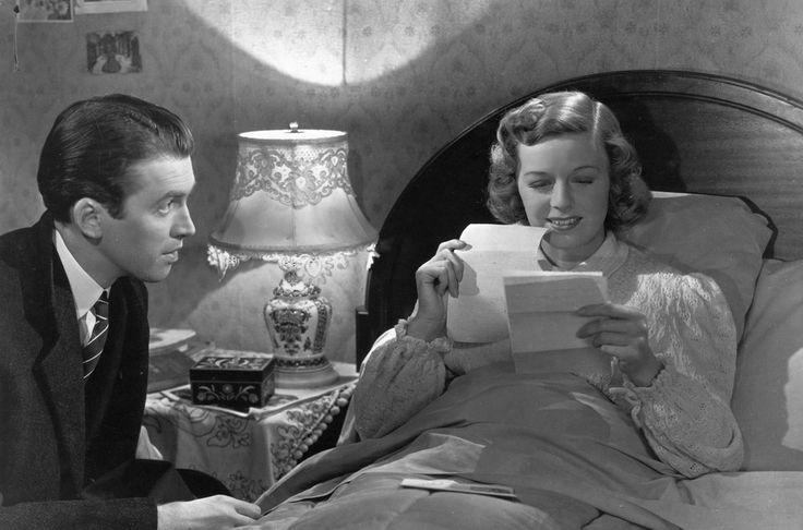 Margaret Sullavan and James Stewart in The Shop Around The Corner, 1940
