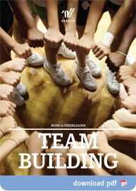Team building for your cheer or dance team. This could work for sections in marching band too! (not necessarily the really girly ones though. :P)