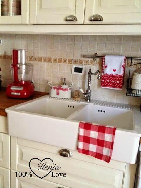 cucina rossa arredamento cucina : su Arredamento Cucina Rosso su Pinterest Accenti di cucina rossa ...
