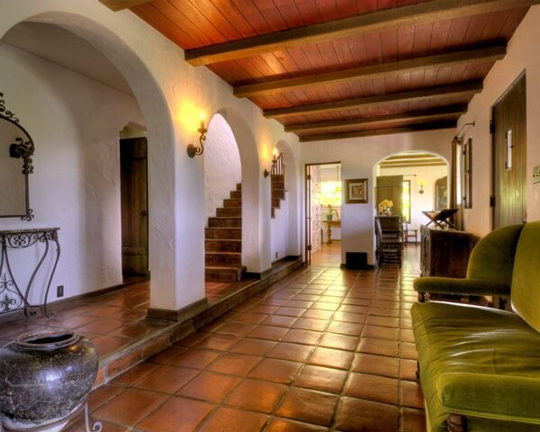 28 best images about traditional saltillo tile for the for Spanish colonial house plans