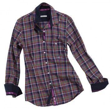 Camicia con righe irregolari di più colori. Seguici anche su                           www.redisrappresentanze.it