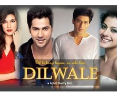 2 tickets for Dilwale Movie in Cineplex Tonight